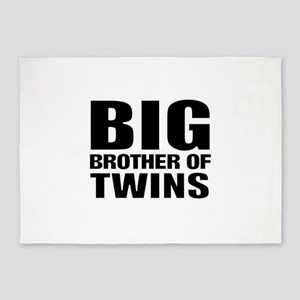 Twins brother 5'x7'Area Rug