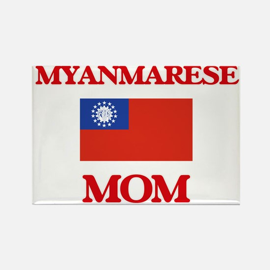 Myanmarese Mom Magnets