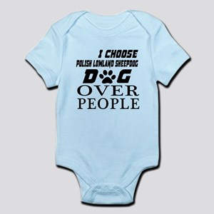 I Choose Polish Lowland Sheep Baby Light Bodysuit