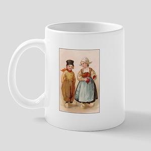 Dutch Children - Knitting Mug