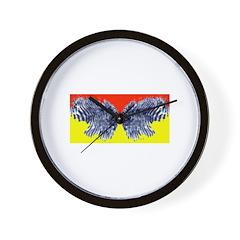 Butter (finger) Fly Eyes Wall Clock