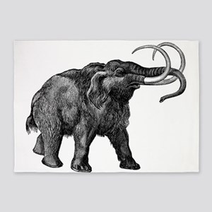 Woolly Mammoth 5'x7'area Rug