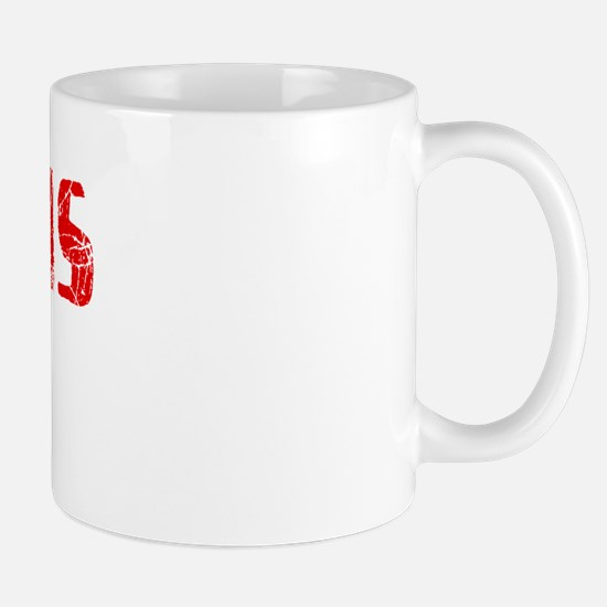 Pinellas Park Faded (Red) Mug