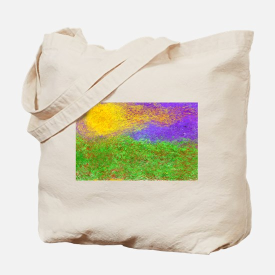 Cute Monet sunrise Tote Bag