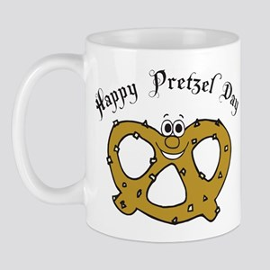 Happy Pretzel Day Mug