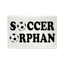 Soccer Orphan Rectangle Magnet