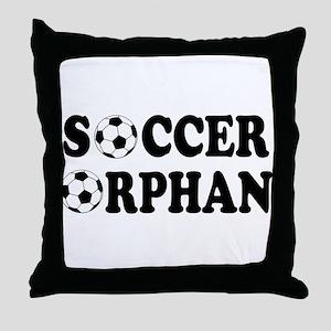 Soccer Orphan Throw Pillow