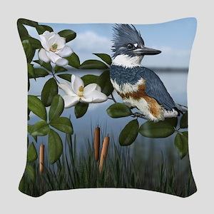 Kingfisher Creek Woven Throw Pillow