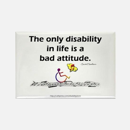 Bad Attitude Rectangle Magnet