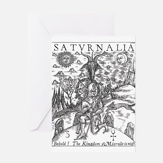 saturnalia Greeting Cards