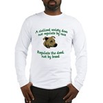 Civilized Society Against BSL Long Sleeve T-Shirt