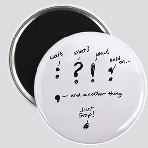 Punctuation Magnet Magnets