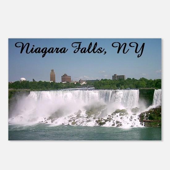 Niagara Falls NY Postcards (Package of 8)