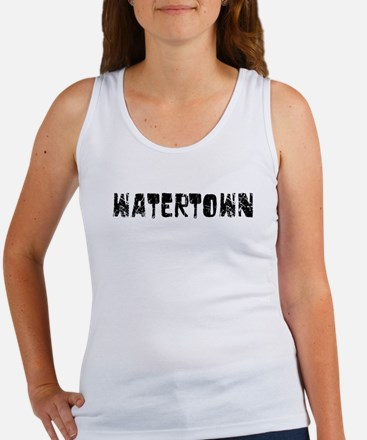 Watertown Faded (Black) Women's Tank Top
