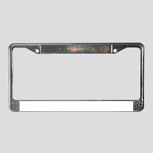 Heartwood - Horizontal License Plate Frame