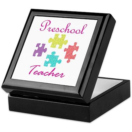 Preschool Teacher Keepsake Box