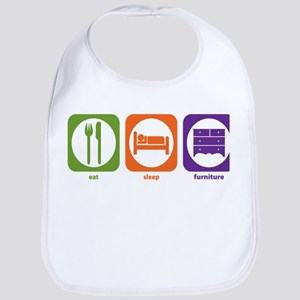 Eat Sleep Furniture Bib