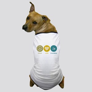 Peace Love Flooring Dog T-Shirt