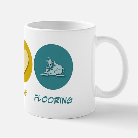 Peace Love Flooring Mug