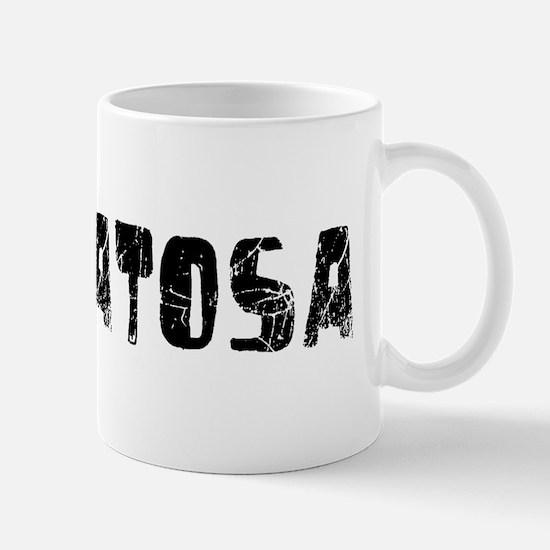Wauwatosa Faded (Black) Mug