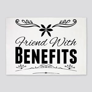 Friend With Benefits 5'x7'Area Rug