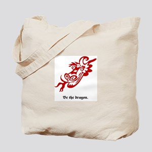Be the dragon. Tote Bag