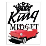 King Midget Small Poster