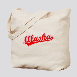 Retro Alaska (Red) Tote Bag