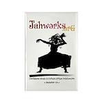 Dancing Woman Jahworks Magnet (10 Magnets