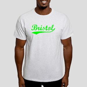 Vintage Bristol (Green) Light T-Shirt