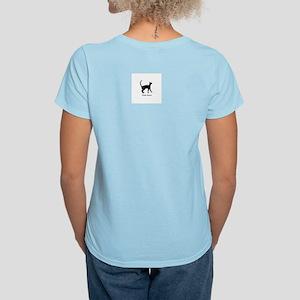 Siamese Cat Women's Pink T-Shirt