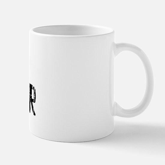 West Chester Faded (Black) Mug