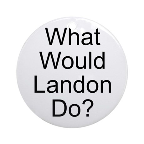 Landon Ornament (Round)