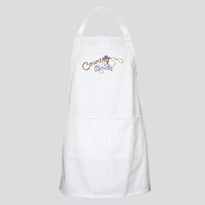 Country Bride BBQ Apron