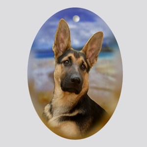 GSD Ornament (Oval)