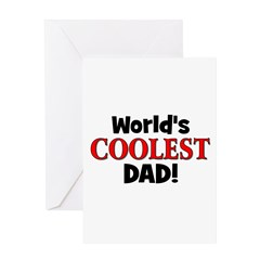 World's Coolest Dad! Greeting Card