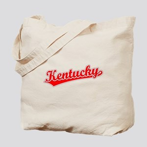 Retro Kentucky (Red) Tote Bag