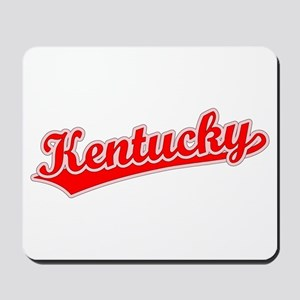 Retro Kentucky (Red) Mousepad