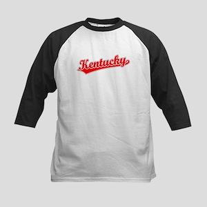 Retro Kentucky (Red) Kids Baseball Jersey