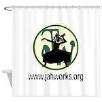 Jahworks Logo Shower Curtain