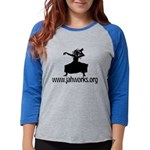 Jahworks Womens Baseball Long Sleeve T-Shirt