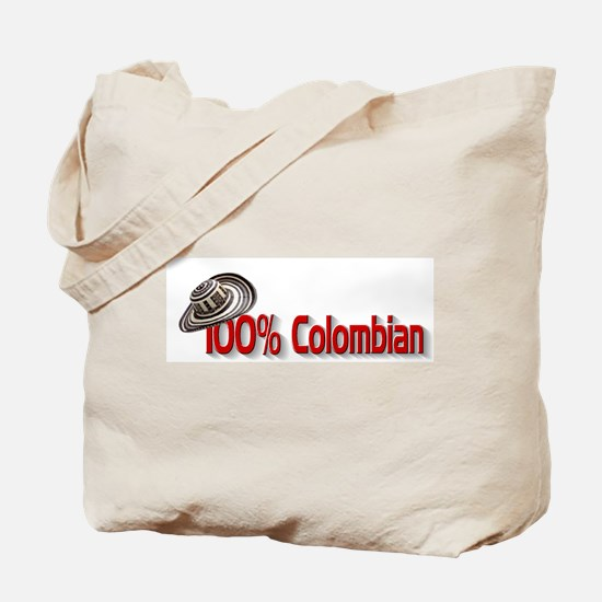 100% Colombian Tote Bag
