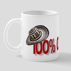 100% Colombian Mug