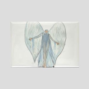 Angel, trusting faith Rectangle Magnet