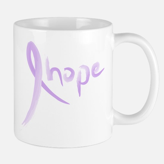 Purple Hope Ribbon Mug
