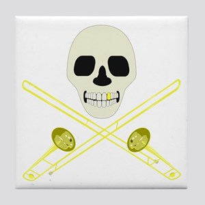 Skull and Cross'bones Tile Coaster