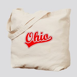Retro Ohio (Red) Tote Bag