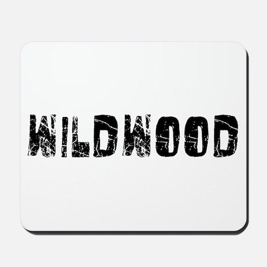 Wildwood Faded (Black) Mousepad