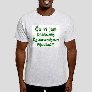 Hug an Esperantist Light T-Shirt