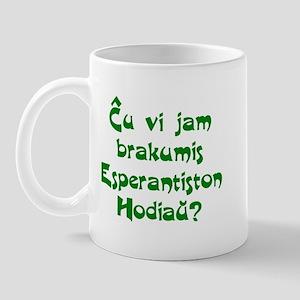 Hug an Esperantist Mug